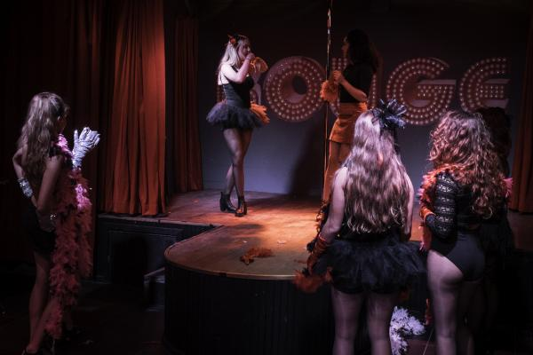 Workshop Burlesque in Aalst